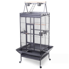 Parrot Finch Cage Macaw Cockatoo Pet Supplies Black