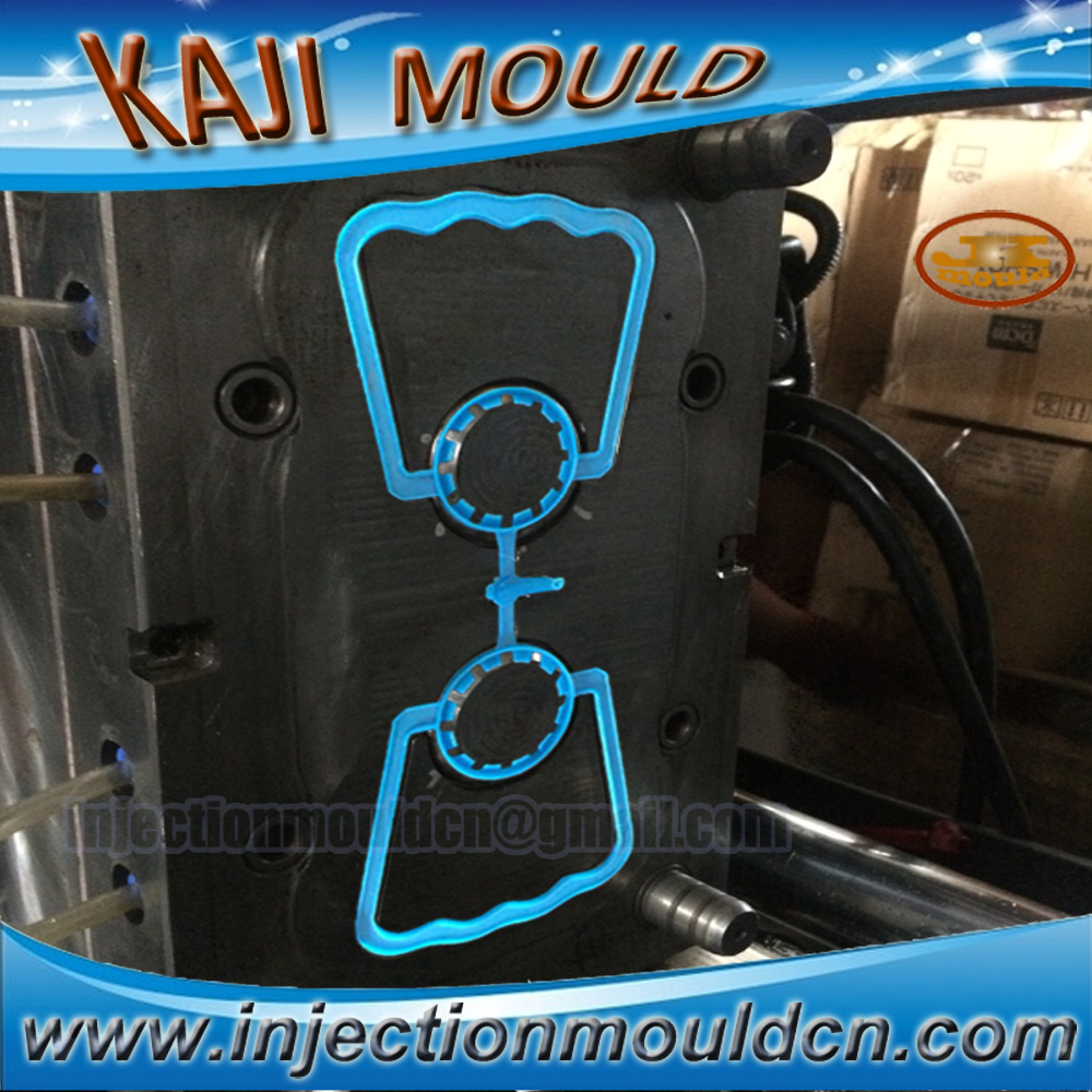 Plastic mold factory provides professional injection mold cap holder processing plastic handle