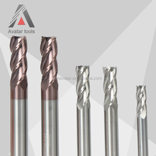 Avatar Tools tungsten solid carbide end mill cutters for stainless steel