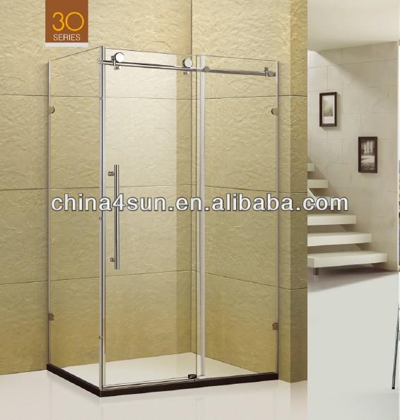 quadranten glas schiebe t r dusche walze t r und. Black Bedroom Furniture Sets. Home Design Ideas