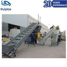 High speed pp pe film plastic washing and recycling machine line