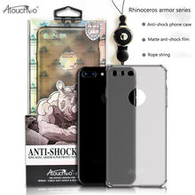 Atouchbo Sublimation Hard PC matte cell phone case packing 3D Phone Case for iPhone 7
