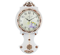 Art Beautiful swing antique wall clock for home office Decorative and gifts factoryZX
