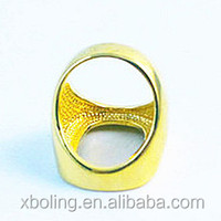 hot sale women's fashion jewelry O shape decorative copper ring