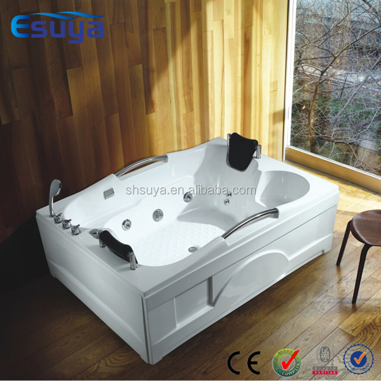 Hot sale new round acrylic bathtub indoor whirlpool for Whirlpool tubs on sale