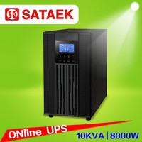 OEM online UPS 10000 VA /8000w sine wave single phase uninterrupted power supply