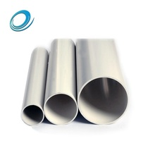 Different types drainage 180mm pvc pipe pirce list of full form sizes