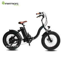 BAFANG 48V 750W Motor 20 inch Mini Folding Fat Tire Electric Bike