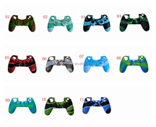 High Quality Silicone Cover Protectiev Skin Case For PS4 Controller For Dualshock 4