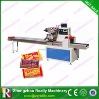 Best Price Advanced Horizontal Biscuit Chocolate Flow Packaging Machinery
