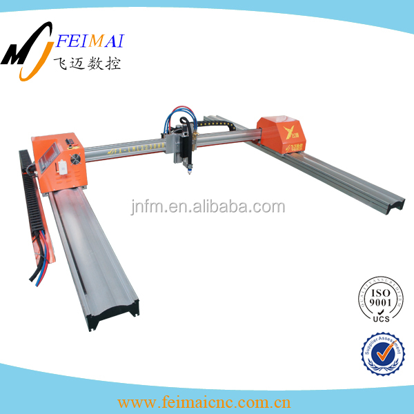 Using in agricultural strong aluminium, cross beam gantry cnc mini cutting machine