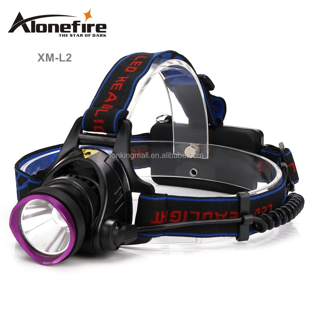 AloneFire HP81 <strong>L2</strong> Led Headlamp 3Modes High Power XM-L Head Lamp for Outdoor Fishing Hiking Travelling 2200lm Led Headlight Light