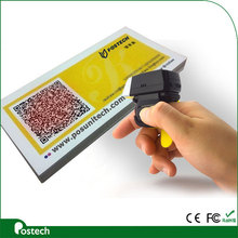 FS02 newest Wireless Bluetooth finger Barcode Scanner for Ticket validation of your Event Solutions