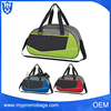 Natural fashion hot sale cheap gym bag best sports bag with shoe pocket