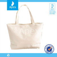 All kinds of double handle tote canvas recyclable shopping bag