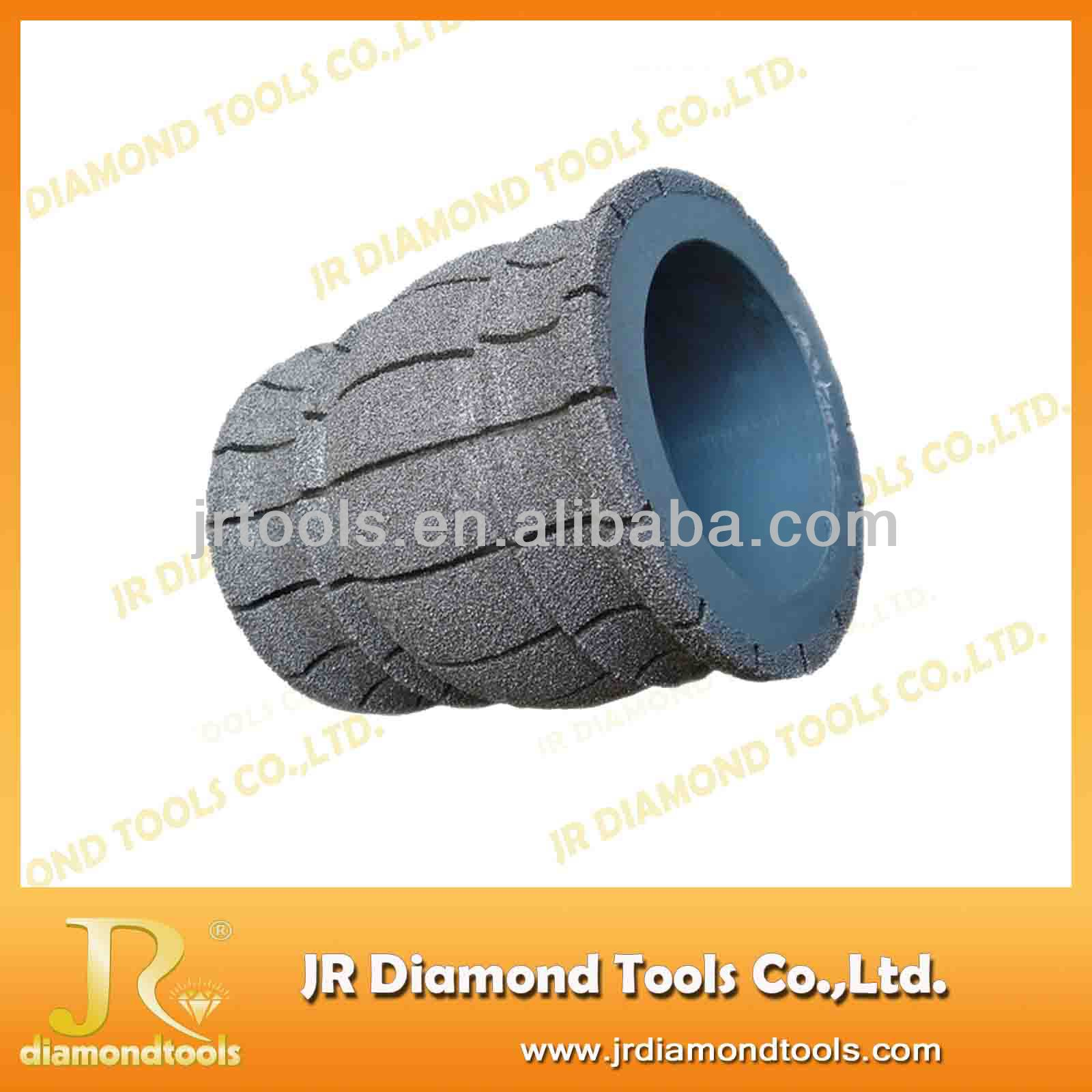Grinding diamond profiling wheels for marble stone