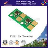 (CS-LE120) compatible smart toner cartridge reset chip for Lexmark E120 E120n E 120 120n 120XXSX BK 2K