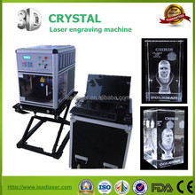 2d 3d crystal laser engraving machine for small business in shopping mall