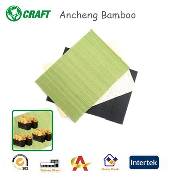 wholesale beautiful tableware baby wicker bamboo placemat