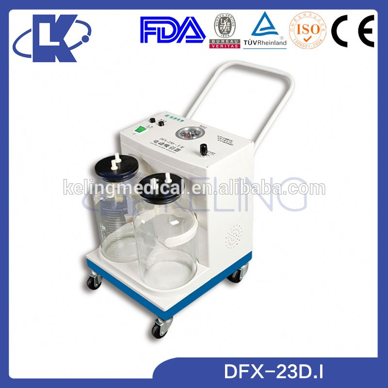 New products best performance ambulance portable suction machine FDA