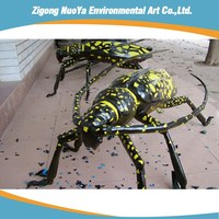 Artificial outdoor insects sculpture for sale