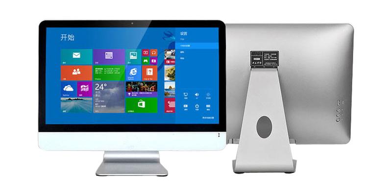 18 5 pouce i3 i5 i7 ordinateur portable de bureau ordinateur tout en un pc avec sans fil souris. Black Bedroom Furniture Sets. Home Design Ideas
