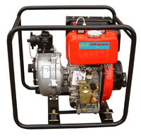 CHINA 3 Inch 80mm Petrol Pump Machine Price, 4 Stroke Gasoline Water Pump WP80, Manual Water Pumps