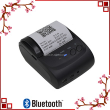 Android and OS mini bluetooth thermal printer, portable pocket printer