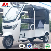 new model factory price passenger enclosed cabin 3 wheel motorcycle