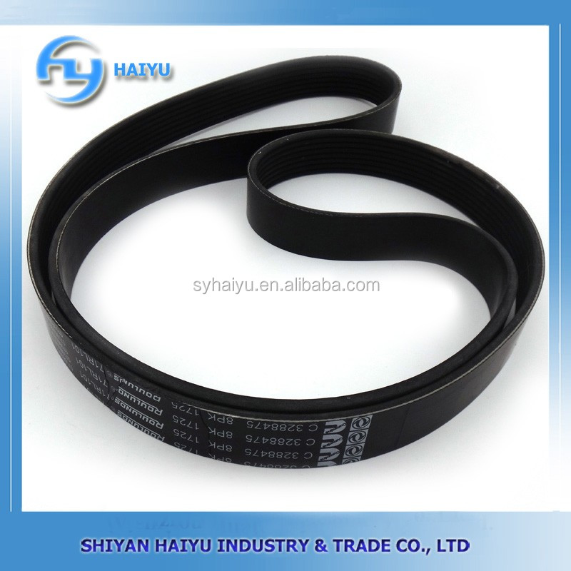 Dongfeng truck engine spare parts 3288475 fan belt for sale