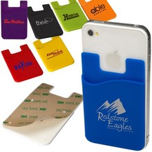 best quality silicone mobile phone credit sim card holder