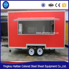 Alibaba China cheap modualr modern glass and steel sheet prefabricated container home for mobile food trucks