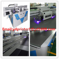 Automatic brand multifunction printer eco solvent printer for printing t shirt/phone case 2880dpi