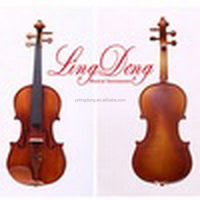 Factory price best sell conservatory violin with clear stem top