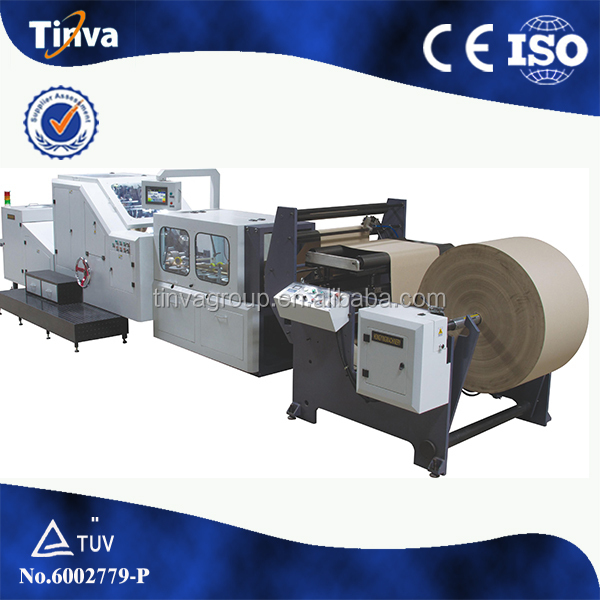 Taiwan configuration Paper gift bags making machine