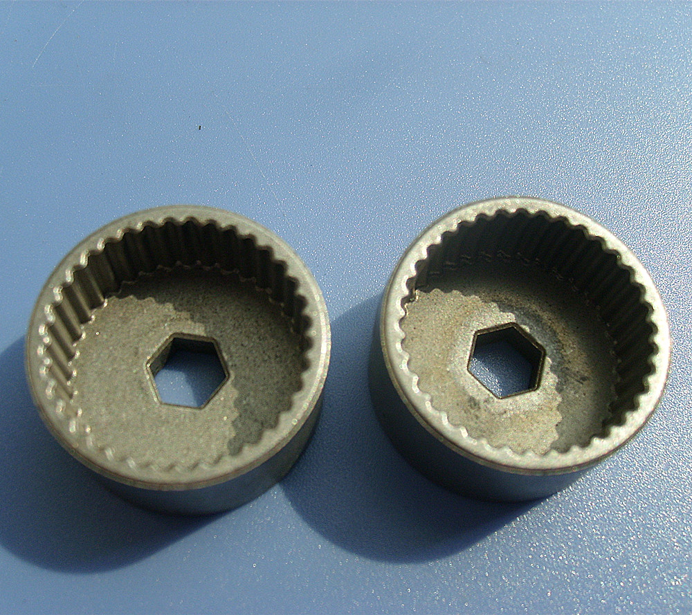 Make Custom Various Powder Metallurgy Parts and Gears, Internal Threaded Gear Parts
