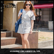 Casual dresses women ladies lace crochet bangkok clothes wholesale ladies lace dresses