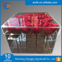 New Arrival Clear Acrylic Flower Packaging