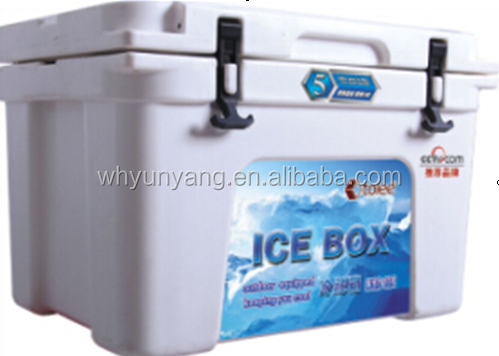 40L roto molded ice cooler box for cooler fishing camp
