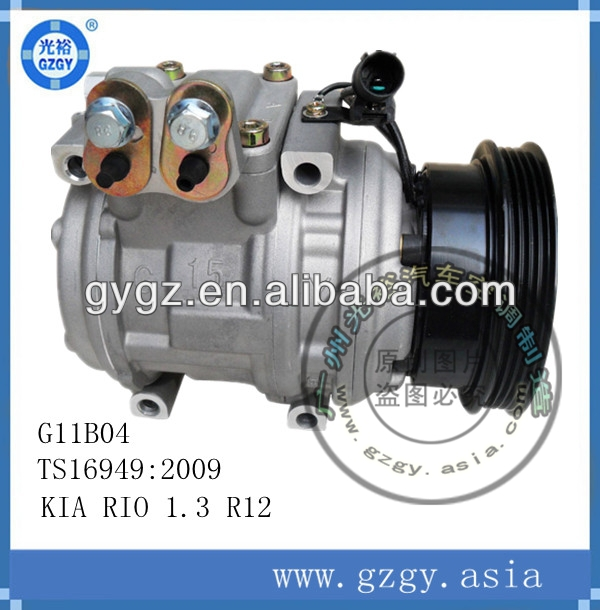 ac compressor for Kia Rio 1.3 R12