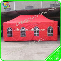 collapable large tent with transparent window