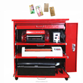 Mobile Phone Use and Vinyl Material mobile skin cut machine with software