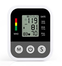 Self health care devices blood pressure meter gauge bp monitor digital