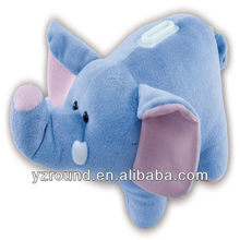 Blue elephant cute bank storage doll