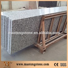 Flat eased white color granite countertop/table top/bench top