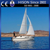 Hison manufacturing 26ft sailboat passenger catamarans for sale