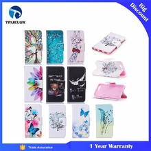 Custom Printed Sublimation Flip Leather Phone Case For Huawei P10