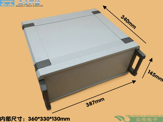AB-10/ 150*360*340mm custom metal shell Control Box Medical Instrument Aluminium Chassis