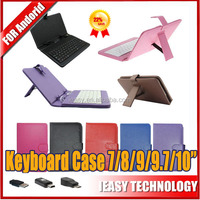 8 inch keyboard case for android tablet Android Tablet USB Keyboard Shockproof Mini Micro USB