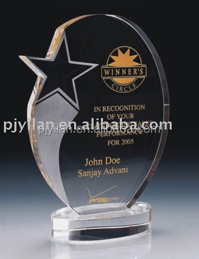 wholesale star crystal awards and trophies